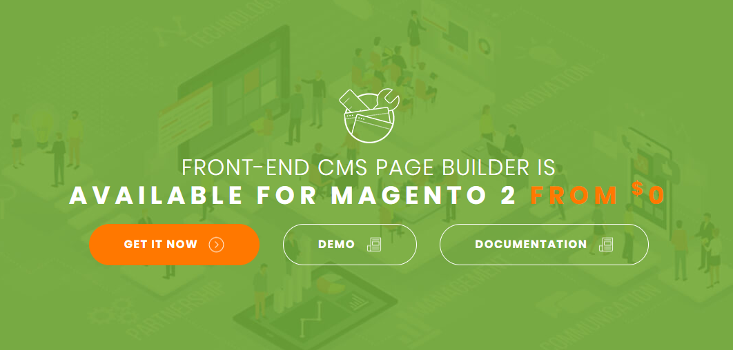 Front End CMS