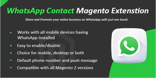 Magento WhatsApp Chat