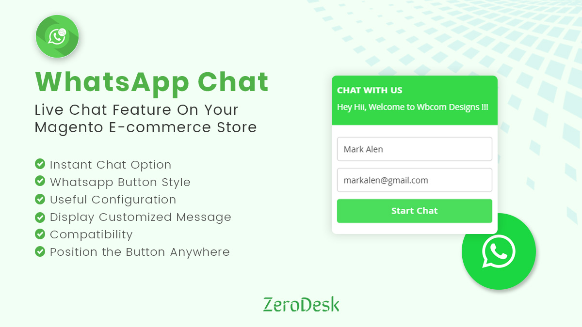 Magento WhatsApp Chat Extension